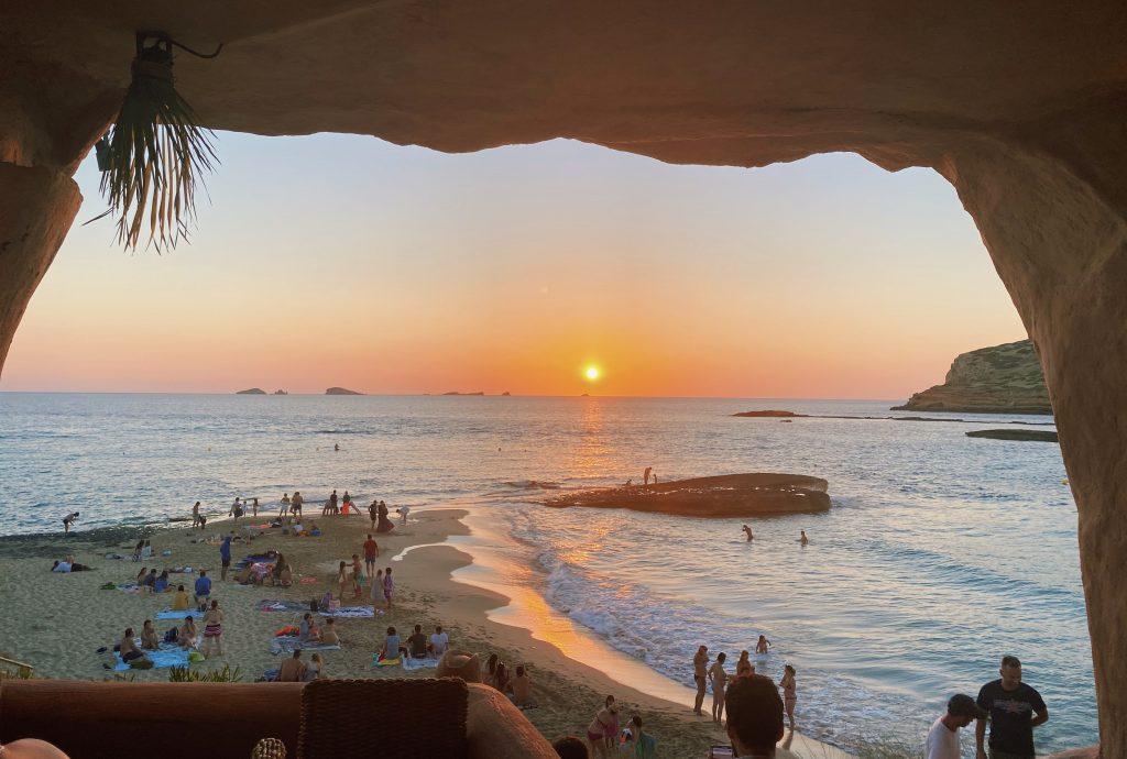 Zonsondergang Ibiza - Cala Comte