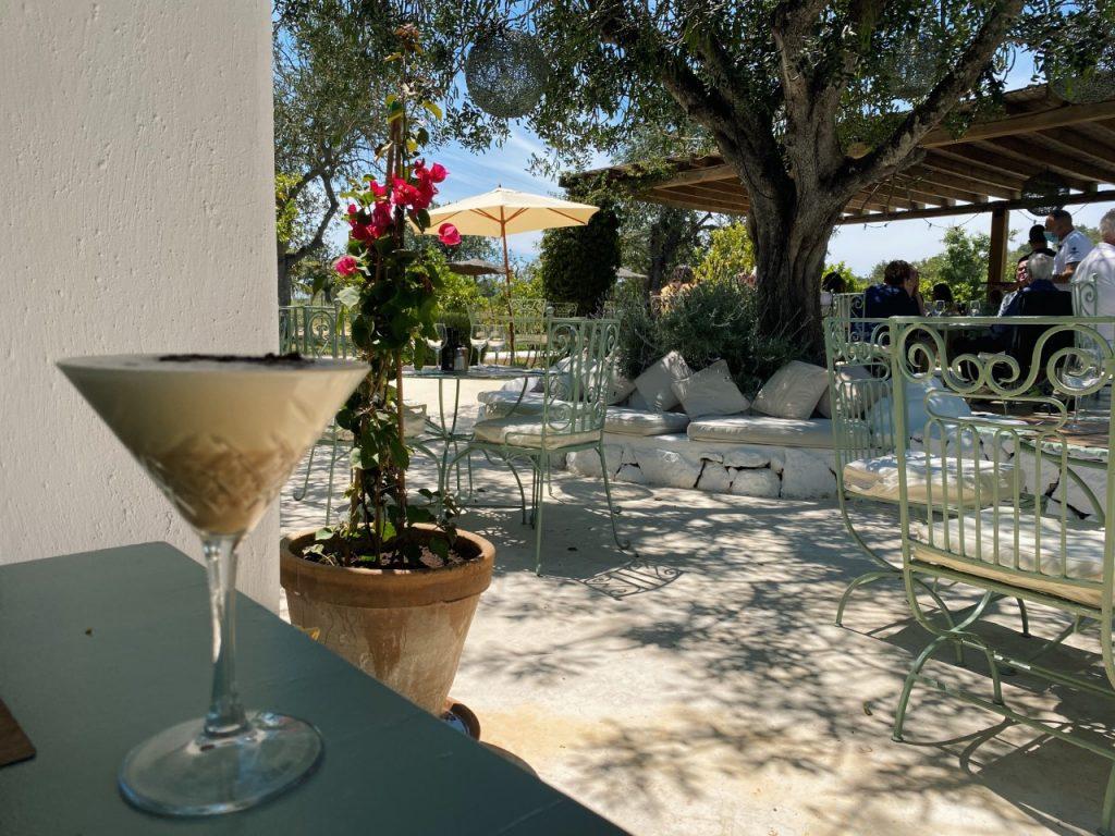 Restaurant Aubergine Ibiza ijskoffie
