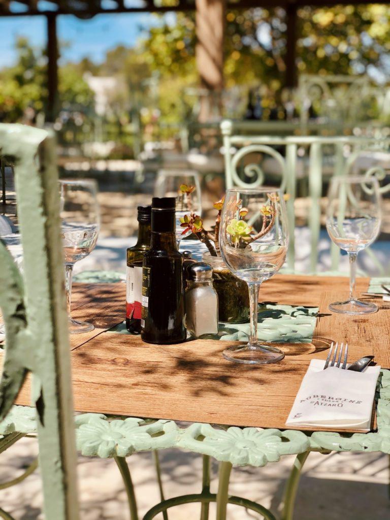 Aubergine tafel