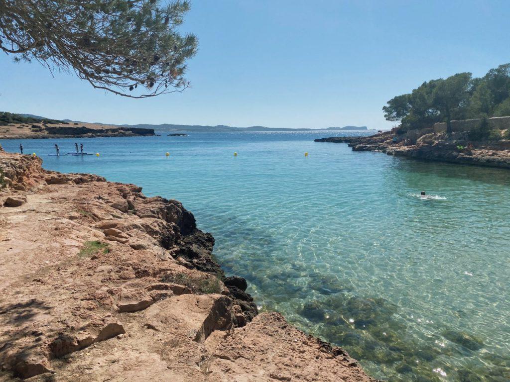 Cala Gracioneta Ibiza uitzicht