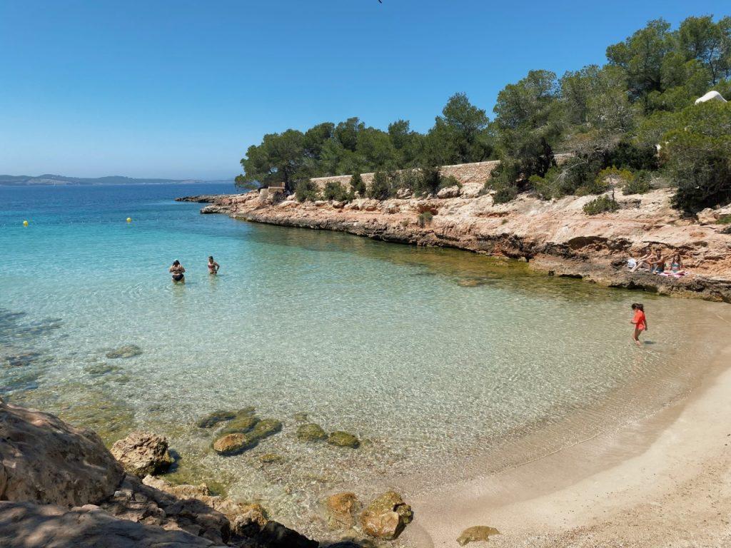 Cala Gracioneta Ibiza zee