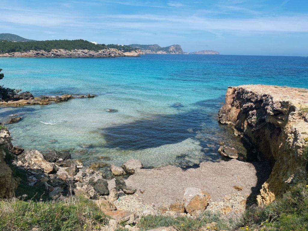 Cala Nova Ibiza uitzichten
