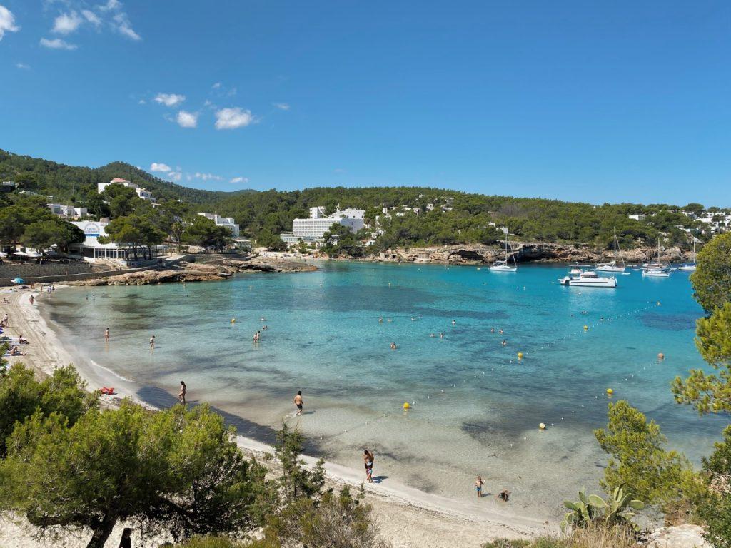 Mooiste stranden noorden Ibiza