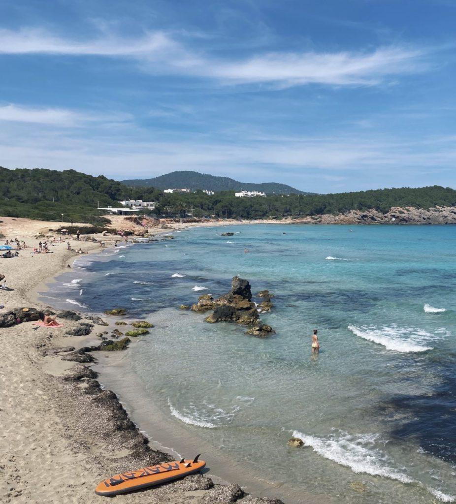 Mooiste stranden noorden Ibiza Cala Nova
